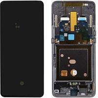 Дисплей Samsung Galaxy A80 (2019) A805, в сборе с сенсором, с рамкой SERVICEPACK, AMOLED