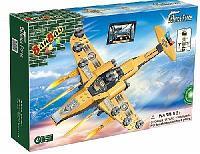 """Конструктор """"Военный самолет"""", 150 деталей Banbao (Банбао)"""