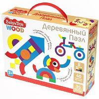 Пазл деревянный 40 элементов Baby Toys