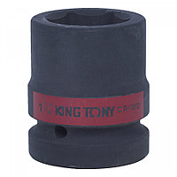 "KING TONY Головка торцевая ударная шестигранная 1"", 1&1/4"", дюймовая KING TONY 853540S"