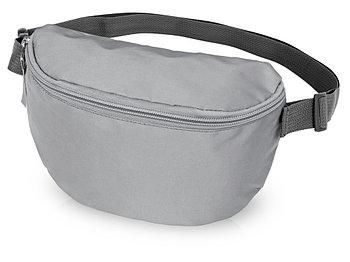 Светоотражающая сумка на пояс Reflector, серебристый