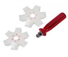 МАСТАК Приспособление для очистки и правки сот радиатора МАСТАК 103-71003