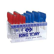 KING TONY Подставка для отверток на 72 предмета KING TONY 87110