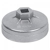 МАСТАК Съемник масляных фильтров, 72 мм, 14 граней, торцевой МАСТАК 103-44172