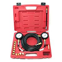 МАСТАК Манометр для измерения давления масла, 2 манометра 7 и 35 бар, комплект адаптеров МАСТАК 120-20023C