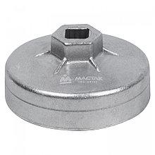 МАСТАК Съемник масляных фильтров, 80 мм, 12 граней, торцевой МАСТАК 103-44162