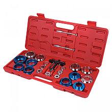 МАСТАК Набор оправок для монтажа и демонтажа сальников, 27-58 мм, кейс, 22 предмета МАСТАК 103-80022C