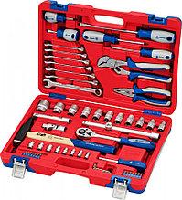 МАСТАК Набор инструментов универсальный, 58 предметов МАСТАК 01-058C