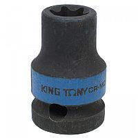 "KING TONY Головка торцевая ударная глубокая TORX Е-стандарт 3/4"", E22, L = 110 мм KING TONY 647522M"