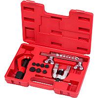 МАСТАК Приспособление для развальцовки и резки тормозных трубок, 4,75-12,7 мм, кейс, 10 предметов МАСТАК