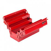 МАСТАК Ящик инструментальный раскладной, 5 отсеков, красный МАСТАК 510-05420R