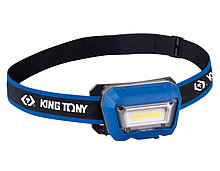 KING TONY Фонарь светодиодный, налобный, 1 Led COB, 3,7 В KING TONY 9TA52A