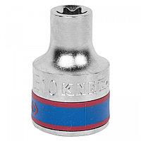 "KING TONY Головка торцевая TORX Е-стандарт 1/2"", E08, L = 37 мм KING TONY 437508M"