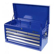 МАСТАК Ящик инструментальный, 6 полок, синий МАСТАК 511-06570B
