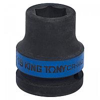"KING TONY Головка торцевая ударная шестигранная 3/4"", 18 мм KING TONY 653518M"