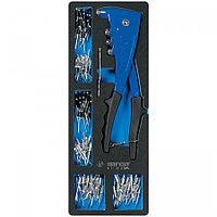 KING TONY Заклепочник с набором заклепок, ложемент, 121 предмет KING TONY 9-21-20-07MRV