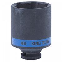 "KING TONY Головка торцевая ударная глубокая шестигранная 1/2"", 46 мм KING TONY 443546M"