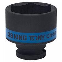 "KING TONY Головка торцевая ударная шестигранная 1/2"", 39 мм KING TONY 453539M"