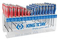 KING TONY Стенд со стандартными отвертками, серии 1421, 1422, 96 предметов KING TONY 31416MR