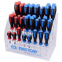 KING TONY Подставка для отверток на 40 предметов KING TONY 87104