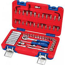МАСТАК Набор инструментов универсальный, 57 предметов МАСТАК 01-057C
