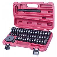 МАСТАК Набор оправок для монтажа и демонтажа подшипников, 18-74 мм, кейс, 49 предметов МАСТАК 100-20049C