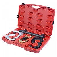 МАСТАК Стяжка амортизаторных пружин, кованые U-образные держатели, кейс, 8 предметов МАСТАК 100-00008C