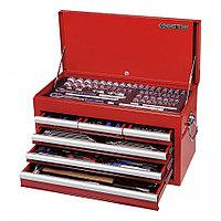 KING TONY Набор инструментов универсальный, выдвижной ящик, 219 предметов KING TONY 911-000CR