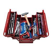KING TONY Набор инструментов универсальный, раскладной ящик, 88 предметов KING TONY 902-089MR01