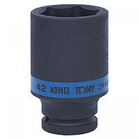 "KING TONY Головка торцевая ударная глубокая шестигранная 3/4"", 42 мм KING TONY 643542M"