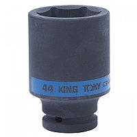 "KING TONY Головка торцевая ударная глубокая шестигранная 3/4"", 44 мм KING TONY 643544M"