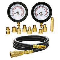 МАСТАК Манометр для измерения давления масла, два манометра, 0-7 и 0-28 бар МАСТАК 120-20028C