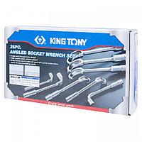 KING TONY Набор торцевых L-образных ключей, 6-32 мм, 26 предметов KING TONY 1826MR