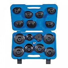 KING TONY Набор съемников масляных фильтров, 66-108 мм, 16 предметов KING TONY 9AE2016