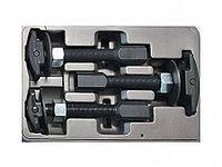 МАСТАК Набор насадок для обратного молотка, кейс, 3 предмета МАСТАК 100-40003C