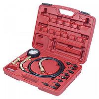 МАСТАК Манометр для измерения давления масла, 0-10 бар, комплект адаптеров МАСТАК 120-20010C
