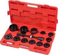 МАСТАК Набор оправок для монтажа и демонтажа ступичных подшипников, кейс, 14 предметов МАСТАК 100-30014C