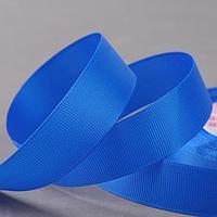 Лента репсовая, 25 мм, 23 ± 1 м, цвет синий №40