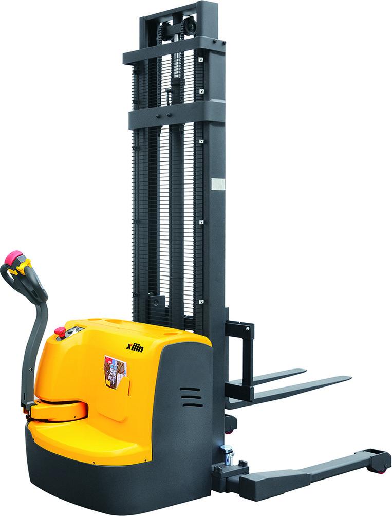Штабелер электрический самоходный XILIN CTDR10 1,0 т 3,0 м регулируемая ширина вил и опор
