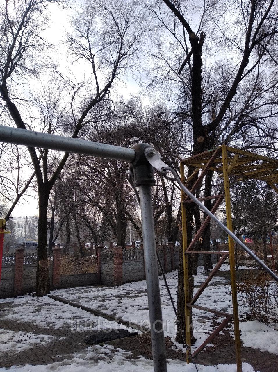 Турник на растяжках перекладина гимнастическая Алматы оптом и розница!