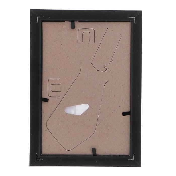 Фоторамка 10х15 см пластик 982 темный орех (50/2000) - фото 4