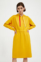 Платье женское Finn Flare, цвет желтый, размер 2XL