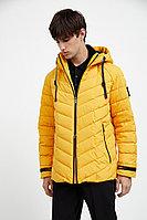 Куртка мужская Finn Flare, цвет желтый, размер S