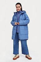 Пальто женское Finn Flare, цвет голубой, размер XS