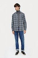 Верхняя сорочка мужская Finn Flare, цвет серый, размер L