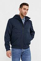 Непромокаемая ветровка с капюшоном Finn Flare, цвет темно-синий, размер XL