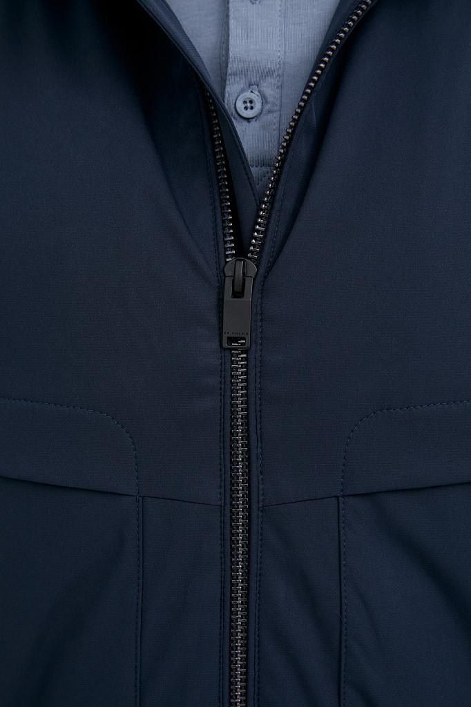 Непромокаемая ветровка с капюшоном Finn Flare, цвет темно-синий, размер 3XL - фото 6