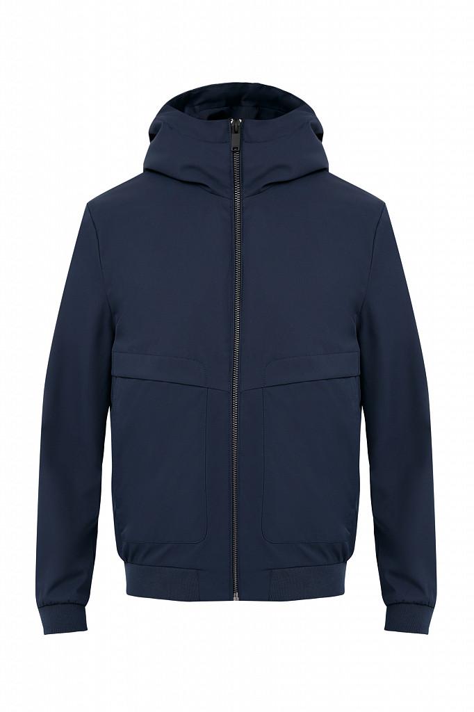 Непромокаемая ветровка с капюшоном Finn Flare, цвет темно-синий, размер 3XL - фото 8
