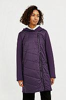 Пальто женское Finn Flare, цвет фиолетовый, размер XS