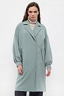 Пальто женское Finn Flare, цвет серо-зеленый, размер M